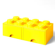 LEGO Brique de Rangement 8 Tenons - Jaune
