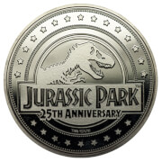 """Welcome To"" Jurassic Park Collector's Coin: Silver Variant – Zavvi Exclusive"