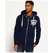 Superdry Men's Core Applique Zip Hoody - Richest Navy