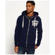 Superdry Men's Core Applique Zip Hoody - Richest Navy