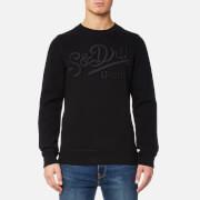 Superdry Men's Core Applique Crew Sweatshirt - Black