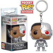 Porte-Clef Pocket Pop! Cyborg - Justice League