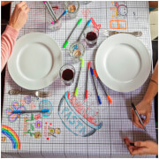 Doodle Tablecloth - Medium with 10 Wash Out Pens