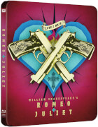 William Shakespeares Romeo + Julia - Zavvi UK Exklusives Limited Edition Steelbook