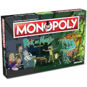 Monopoly - Rick and Morty Editie