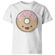 How To Cook That Kawaii Donut Kids' T-Shirt - White