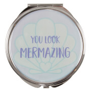 Sass & Belle Mermaid Treasures Pocket Mirror