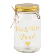 Sass & Belle Mr & Mrs Fund Jar Money Box