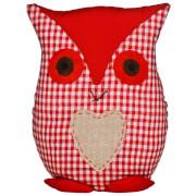 Door Stop Owl - Red