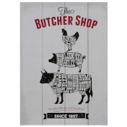 Butcher Shop Wall Plaque