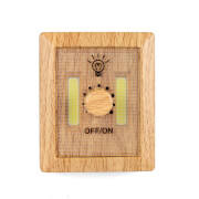 Wooden Dimmer Light