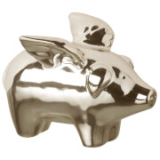 Parlane Ceramic Flying Pig Decoration (7 x 4cm)
