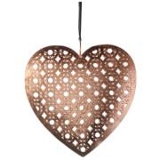 Cœur en Fer Parlane (15 cm x 15 cm) - Cuivre