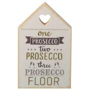 Parlane Prosecco Wooden Decorative Sign (18 x 11cm) - Cream