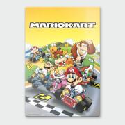 Nintendo Mario Kart 1 Chromalux High Gloss Metal Poster