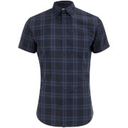 Jack & Jones Originals Fischer Short Sleeve Shirt - Blue Depths