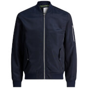 Blouson Bomber Homme Core Grand Jack & Jones - Bleu Marine