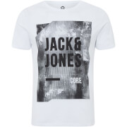 T-Shirt Homme Core Profile Jack & Jones - Blanc