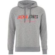 Jack & Jones Core Men's Linn Hoody - Light Grey Marl
