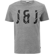 Jack & Jones Core Men's Pixel T-Shirt - Light Grey Marl