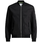 Blouson Bomber Homme Core Grand Jack & Jones - Noir