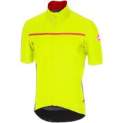 Castelli Gabba 3 Jersey - Yellow Fluo