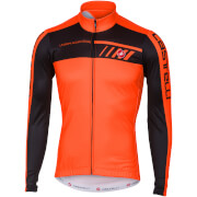 Castelli Velocissimo 2 Long Sleeve Jersey - Orange/Black