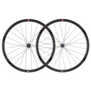 3T R Discus C35 Tubeless Ready Team Stealth Front Wheel - Black - 35mm
