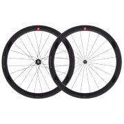 3T Orbis II C50 Team Stealth Clincher Wheelset - Black - 50mm