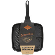 Gentlemen's Hardware Multi Section Frying Pan - Black