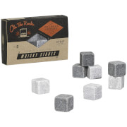Gentlemen's Hardware Granite and Soap Stone Whisky Stones - Grey