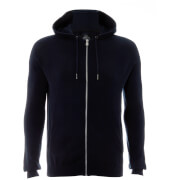 Sweat à Capuche en Maille Homme Hampton Threadbare - Bleu Marine