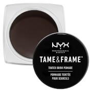 Купить Помада для бровей NYX Professional Makeup Tame & Frame Tinted Brow Pomade (различные оттенки) - Black
