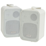 Image of AV: Link 3 Way Background 30W Stereo Speakers - White