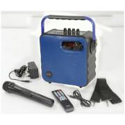 QTX Portable Bluetooth Party Speaker - Blue