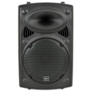 QTX QR12 Portable PA System with Built-in Trolley - Black (USB/SD/FM/Remote)