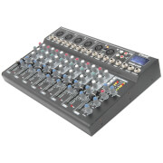 Citronic CM8-live Compact Mixer (Delay/USB/SD Player/8 Channel)
