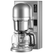 KitchenAid 5KCM0802BCU Pour Over Coffee Maker - Contour Silver