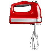 Image of KitchenAid 5KHM9212BER 9 Speed Hand Mixer - Empire Red