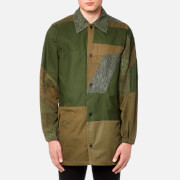 Maharishi Men's Upcycled Coach Jacket - Olive - S - Green