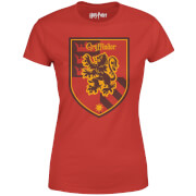 Harry Potter Gryffindor Damen T-Shirt - Rot