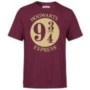Harry Potter Platform 9 3/4 T-shirt - Wijnrood