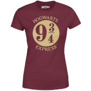 Harry Potter Platform Burgundy Women's T-Shirt