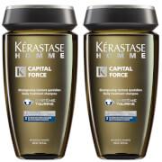 Kérastase Homme Captial Force Anti-Dandruff Shampoo (250ml) Duo