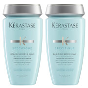 Kérastase Specifique Dermo-Calm Bain Riche Shampoo 250ml Duo