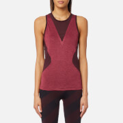 adidas by Stella McCartney Women's Training Top - Dark Burgundy/Legend Red - XS - Red