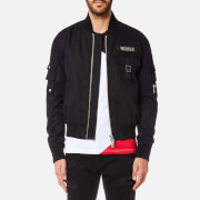 Versus Versace Men's Bomber Jacket - Black - XL/42 - Black