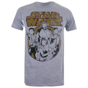 Star Wars The Last Jedi Rebel Group T-shirt - Lichtgrijs