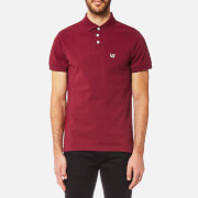 Versace Jeans Men's Small VJ Logo Polo Shirt - Rhododendron