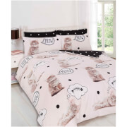 Dreamscene Walkies Kitten Duvet Set - Multi